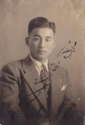 初代社長・渡邊實 (1948年当時25才)