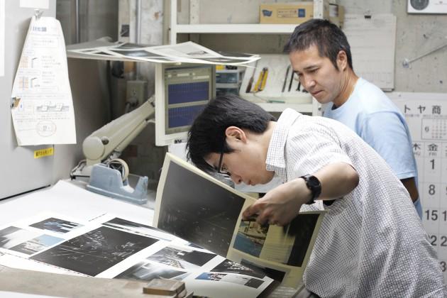 2015.6.3.写真集印刷立会い(弊社工場にて)